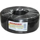 - REXANT Кабель RG-58 A/U, (64%), 50 Ом, 100м., черный (01-2003)